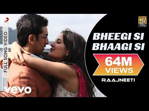 Raajneeti - Ranbir Kapoor Katrina | Bheegi Si Bhaagi Si Video...