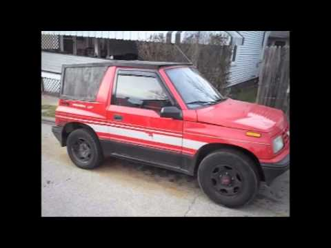 How to build a hard top for a Geo Tracker Redneck Style
