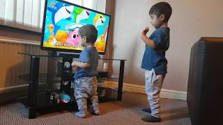 Baby Shark Challenge | Sing and Dance | Pinkfong Songs | AK Brothers