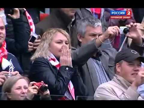 Спартак - Динамо Киев 2012. Прощальный матч Егора Титова.