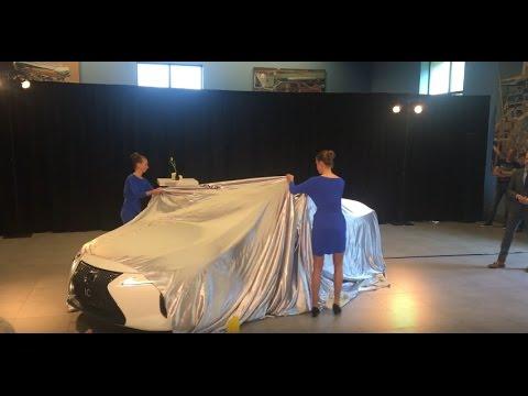 Дали посидеть в новом Lexus LC 500h 2017