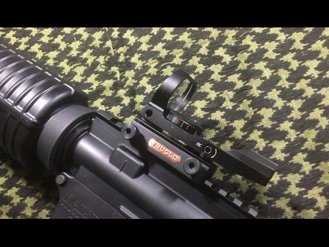 Ultra Cheap Red Dot: TruGlo Reflex Sight
