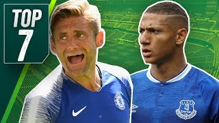 7 RIDICULOUS transfers from this summers Transfer Window
