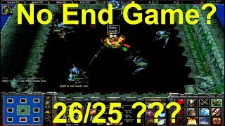 Warcraft 3 | Custom Hero Survival v2.6c | NO END GAME ? | 26/25 ROUNDS | NEVER SAW THIS