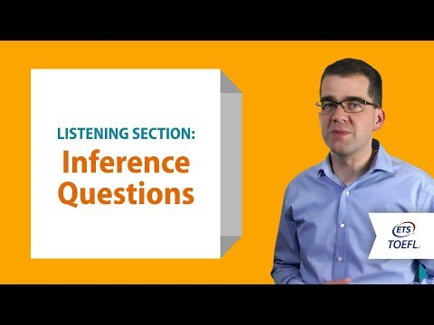 TOEFL® Listening Questions - Making Inferences │ Inside the TOEFL® Test