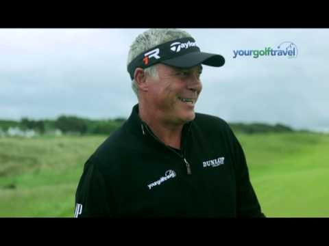 Behind the scenes of our SKY TV advert featuring Darren Clarke at Royal Portrush Golf Club