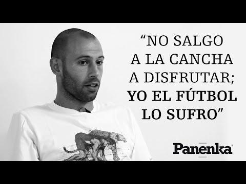 """Mascherano: """"Yo el fútbol lo sufro"""""""