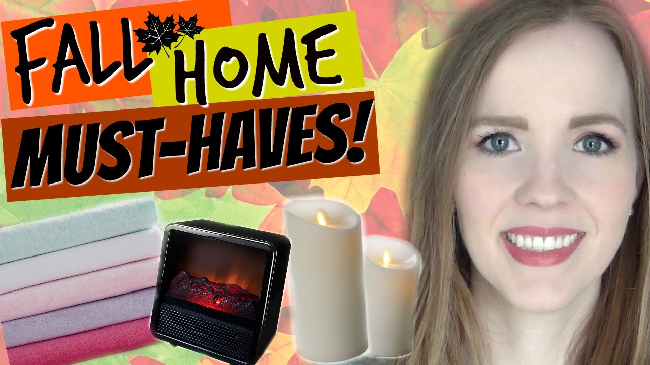 Fall Home Must-Haves! | Make Your Home Warm, Cozy & Inviting!