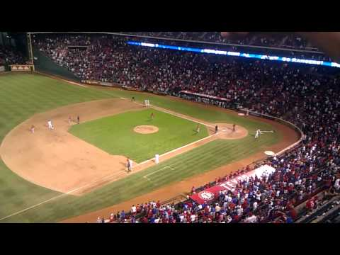 Elvis Andrus Walk Off Hit Entire At Bat vs Angels 8/1/12