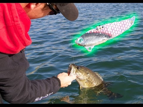 Winter Bass Fishing Tips for Deep Bass- Spoons and Buddy Blades