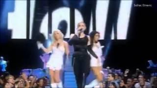Madonna Video - Like A Virgin - Madonna, Britney Spears, Christina Aguilera (VMA's 2003)