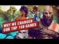 Why We Made Major Changes to IGN's 100 Best Games of All Time thumbnail