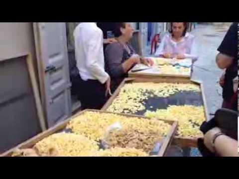 Bari City, Italy  Pasta Making.Celebrity Silhouette cruise