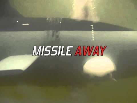 Model Submarine Shoots Missiles Underwater