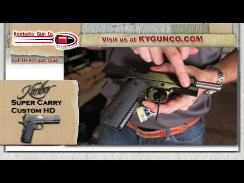 Kimber Super Carry Custom HD Review