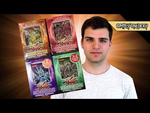 Best Yugioh 5ds Random Special Edition Box Opening! The Crimson Duelist & The Overdrive Battles! video