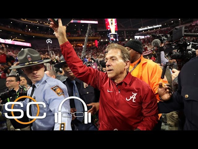 Nick Saban reflects on Alabama's game-winning play | SC with SVP | ESPN