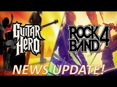 Rock Band 4 & Guitar Hero Live News: Xbox One  Legacy Adapter, A7X Premium Show Footage!