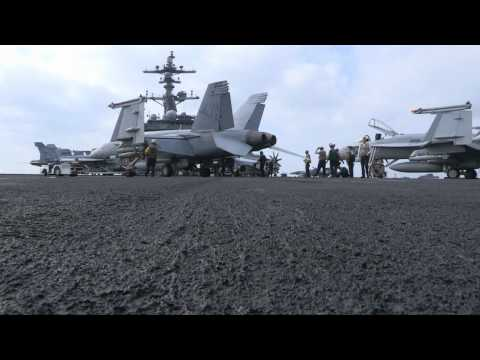 USS Carl Vinson Flight Operations