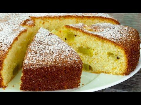 Вы влюбитесь навсегда в этот вкусный и простой в приготовлении бисквит с фруктами. | Appetitno.TV