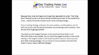 Day Trading Forex Live - Why Traders Fail
