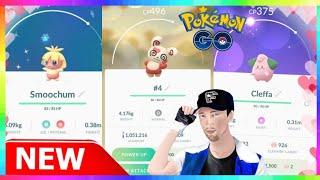 NEW SHINY POKEMON + 4x HEART SPINDA! 2019 VALENTINE'S DAY EVENT in Pokemon Go!