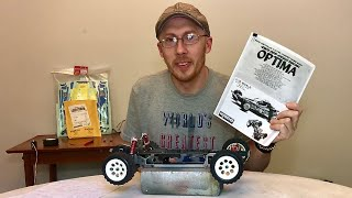 Vintage Kyosho Optima 4 wheel drive Rc Buggy Restoration part 1