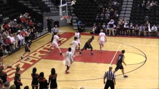 Ryan Greer #5 freshman highlights against top competitors Pace, GAC, and Holy Innocents basketball