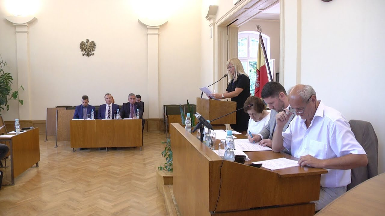 LII sesja Rady Miejskiej, część I