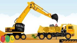 CONSTRUCTION WORLD-DESERT Level [1-5] | Xe Xúc Đất, Ủi Đất, Xe Tải & Máy Bay | TopKidsGames (TKG)