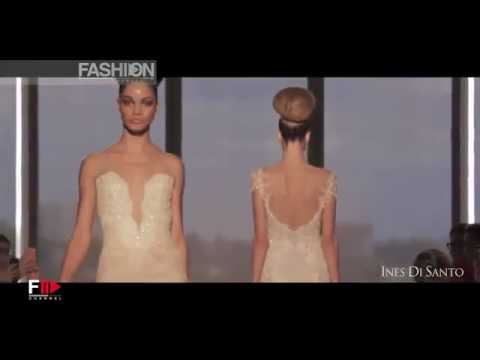 """INES DI SANTO"" Bridal Fall 2014 Collection by Fashion Channel"