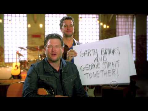 Sign Wars with Bluke - 2013 ACM Awards