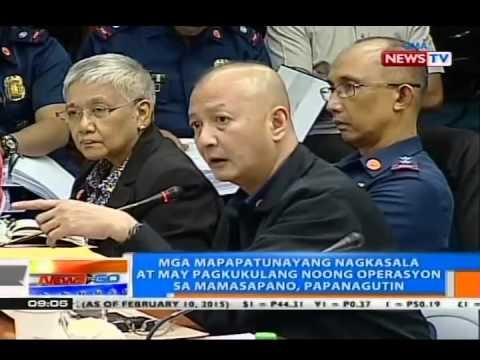DOJ: MILF members na namaril noong engkwentro sa Mamasapano pwedeng kasuhan kahit may peace talks