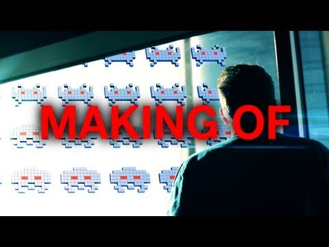 Making of  - Space Invaders in Real Life