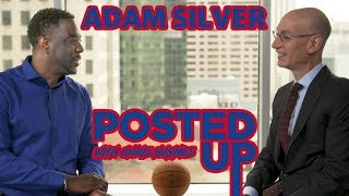 Adam Silver talks Drake, Toronto's First Finals on Posted Up with Chris Haynes