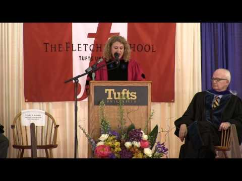 The Fletcher School: Class Day 2013 Paddock Award Faculty Address