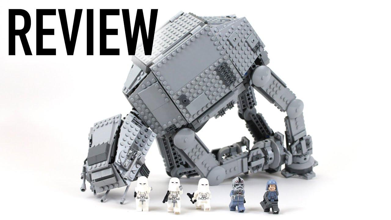 lego star wars at at walker review set 75054 youtube. Black Bedroom Furniture Sets. Home Design Ideas