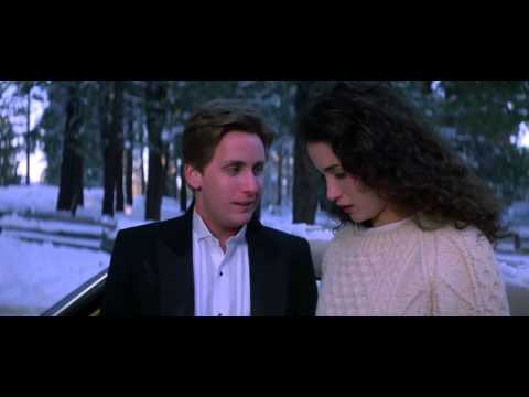 Andie MacDowell & Emilio Estevez in St. Elmo's Fire