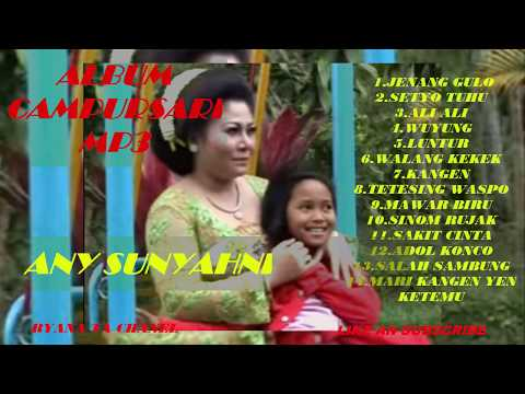 Song Song Options Tembang Lawas CampurSari ANY SUNYAHNI.VOL.1 .New 2017.Nyamleng Tenan..MP3