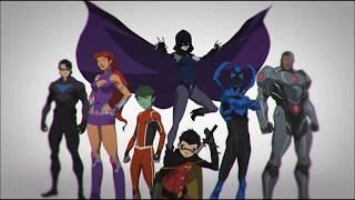 Download lagu Justice League vs Teen Titans with Classic Original Teen Titans theme