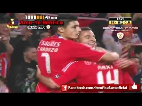 Benfica 2-1 Olhanense | Golos com relato