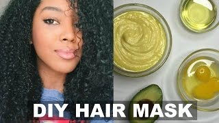 DIY: Hair Mask | Strength, Conditioning, & Growth | Natural Hair