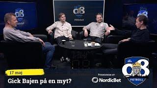 """08 Fotboll: """"Gick Bajen på en myt?"""""""