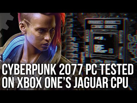 Cyberpunk 2077 PC Tested On Xbox One CPU... And It Works!