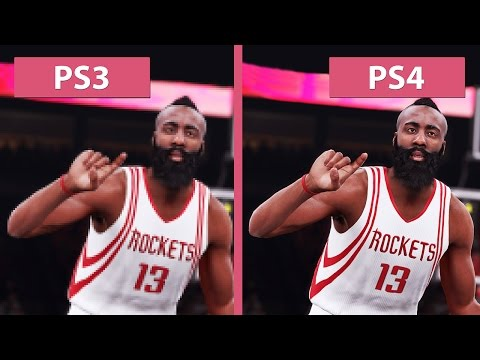 NBA 2K16 – PS3 vs. PS4 Graphics Comparison [FullHD][60fps]