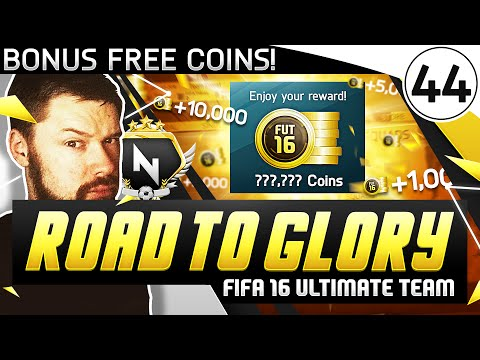 BONUS FREE COINS! - FUT ROAD TO GLORY!! - #44 - FIFA 16 Ultimate Team