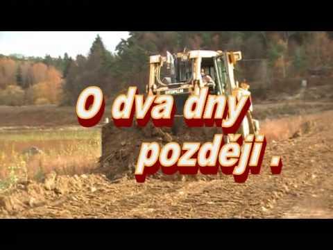 Stroje na Plumlovské přehradě .