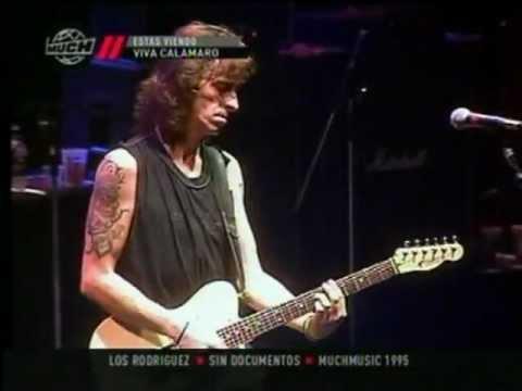 Sin Documentos -Andres Calamaro & Los Rodriguez- En vivo Gran Rex 1995