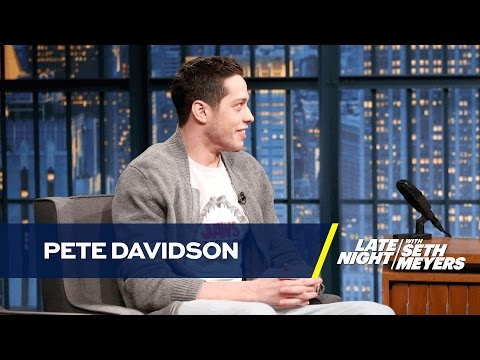 Pete Davidson Reviews His New Tattoos