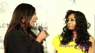 Linda Antwi and Girlie TV interviews VH1 Star Saaphyri Windsor